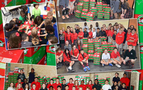 NCS gives to Operation Christmas Child