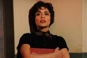 "Vanessa Hudgens as Rizzo during her heart-wretching performance of ""There Are Worse Things I Could Do."""