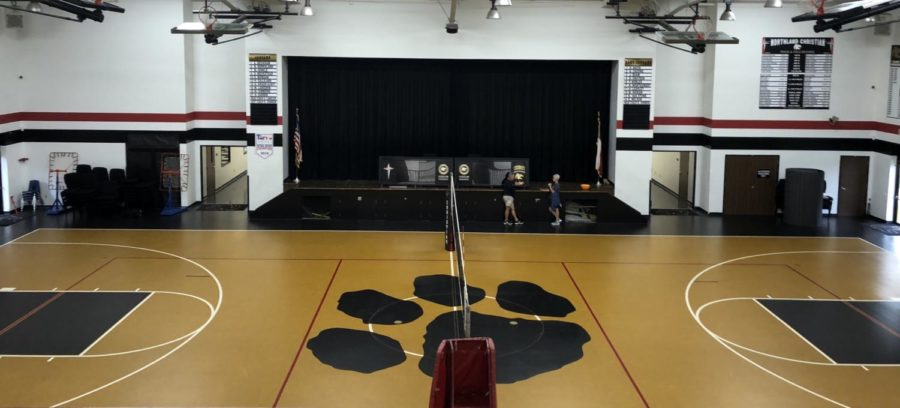 Northland's Gym & Stage: Renovations?