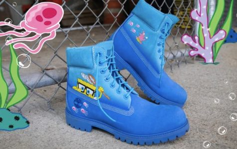 Timberland celebrates Sponge bob with a new collection!