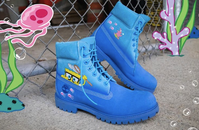 Timberland+celebrates+Sponge+bob+with+a+new+collection%21