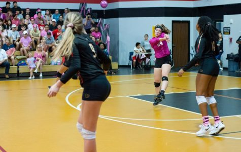 Home varsity volleyball game October 20