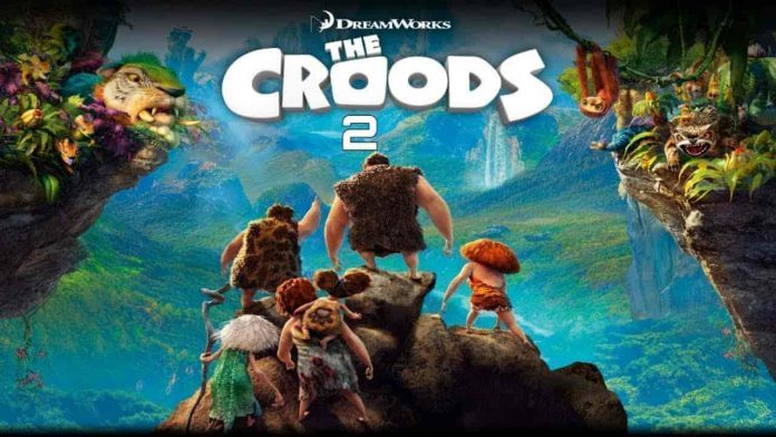 Has Croods 2 become the most popular movie during Thanksgiving break?