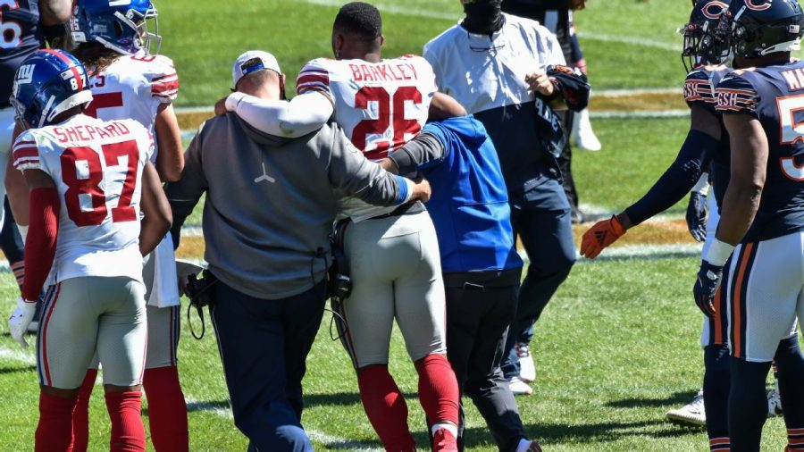 Is saquon Barkley the next Adrian Peterson after terrible injury